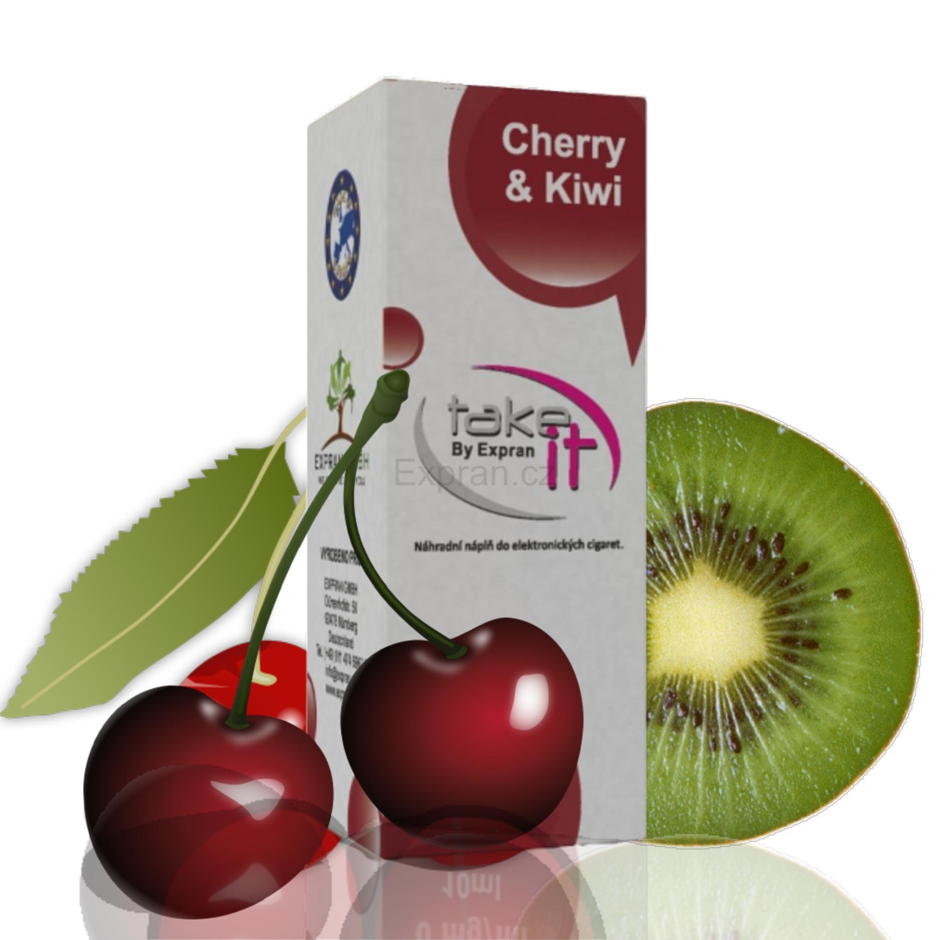 10 ml Take It - Cherry & Kiwi 3 mg/ml