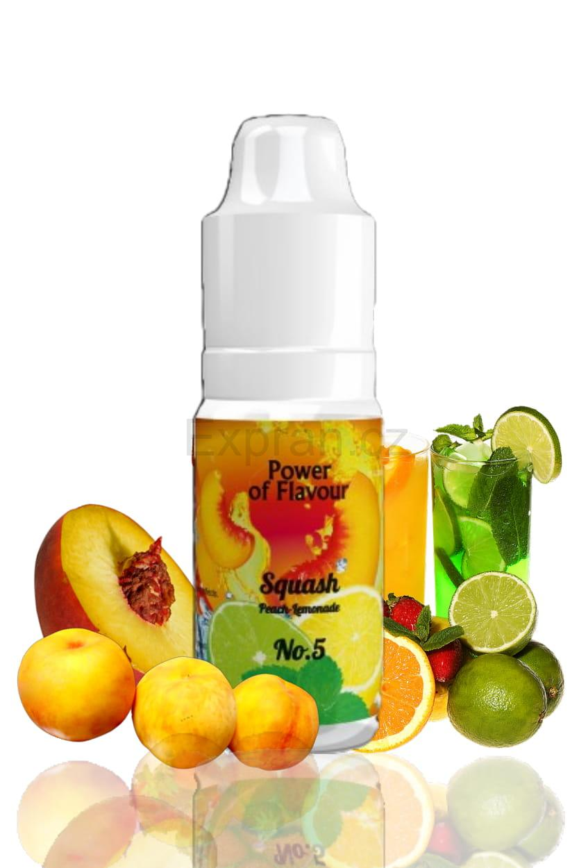 10 ml Power of Flavour - No. 5 (Broskev, limonáda)
