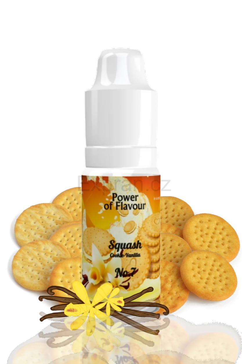 10 ml Power of Flavour - No. 7 (Cookies, vanilka)