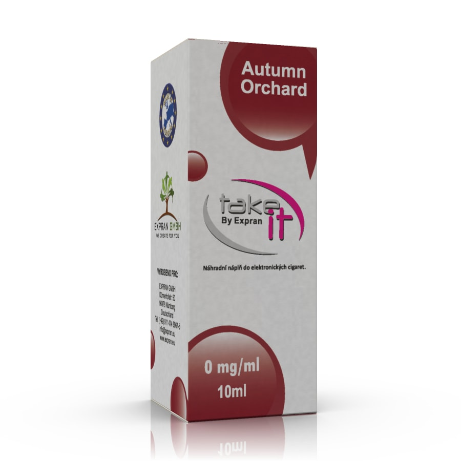 10 ml Take It - Autumn Orchard 3 mg/ml