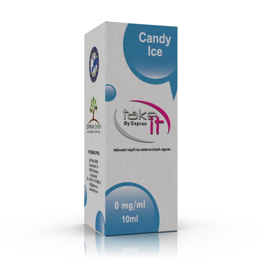 10 ml Take It - Candy Ice 3 mg/ml