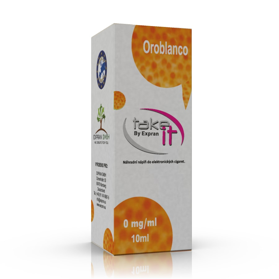 10 ml Take It - Oroblanco 3 mg/ml