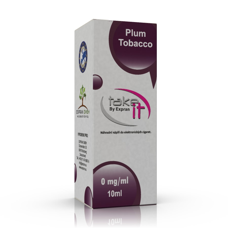 10 ml Take It - Plum Tobacco 3 mg/ml