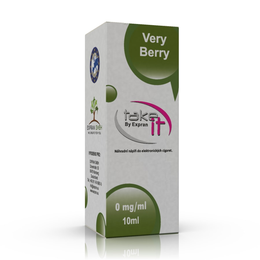 10 ml Take It - Very Berry 3 mg/ml