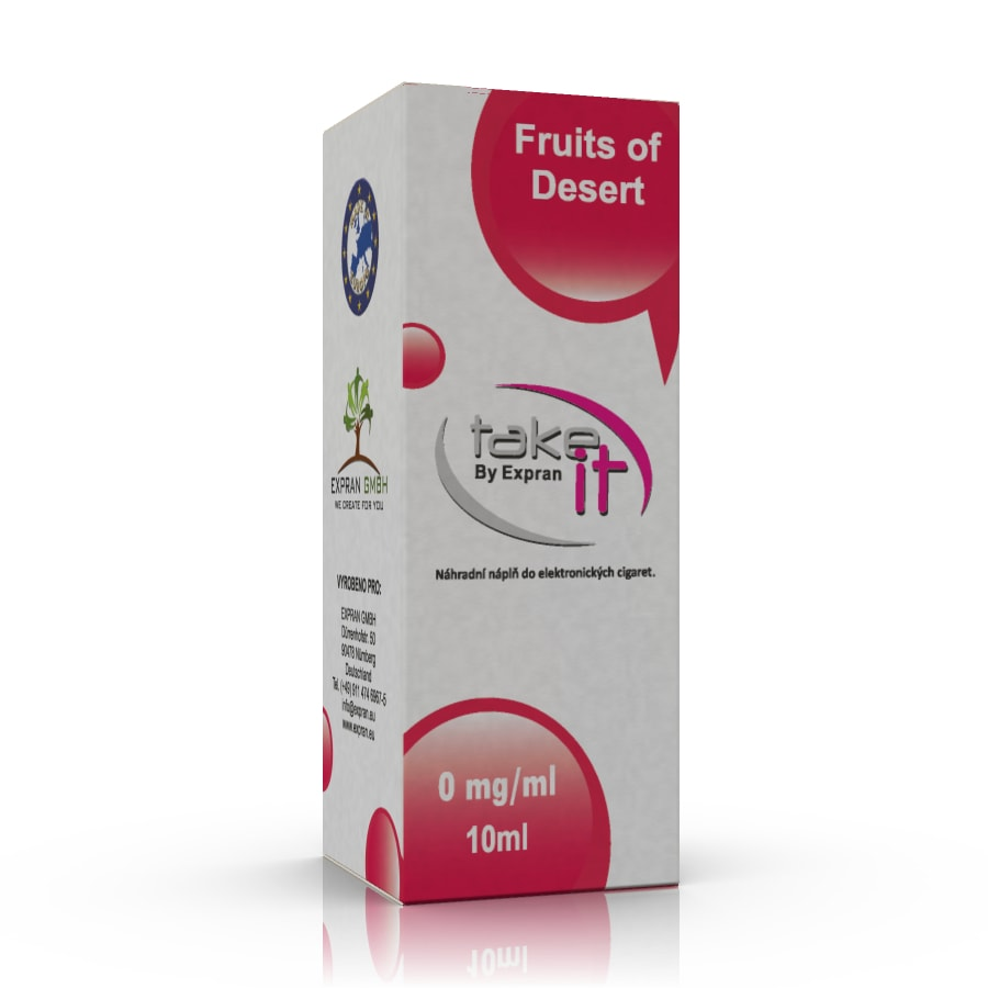 10 ml Take It - Fruits of Desert 0 mg/ml