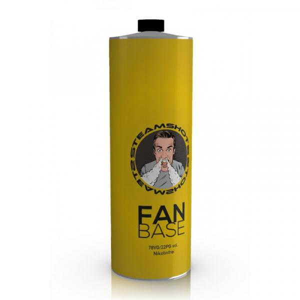 750 ml FanBase 22PG/78VG 0 mg/ml