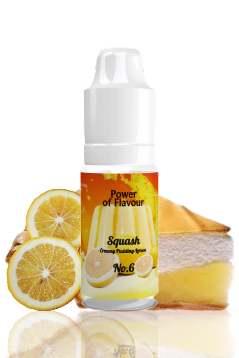10 ml Power of Flavour - No. 6 (Smetanový pudink, citron)