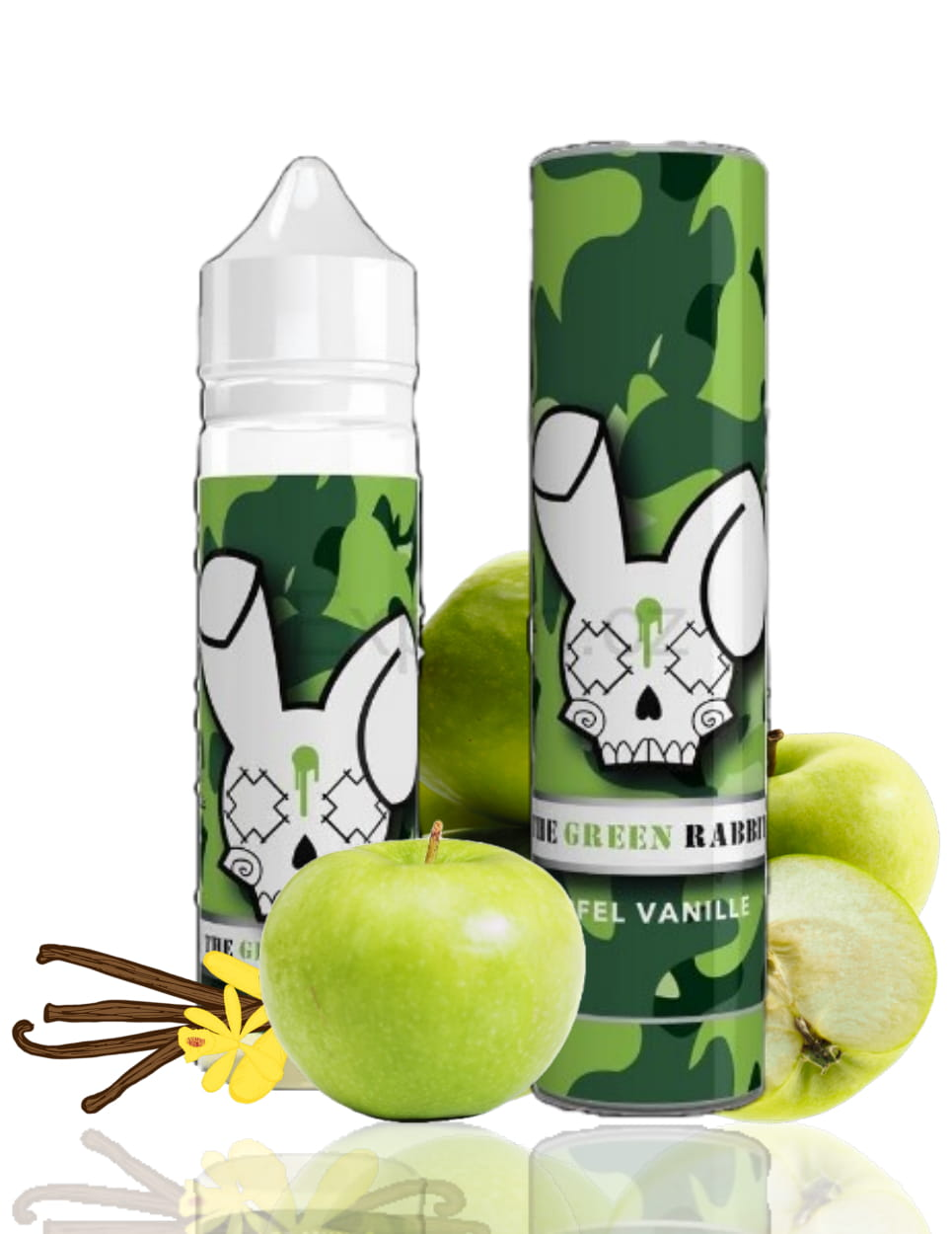 10 ml WSY - The Green Rabbit (Shake & Vape)